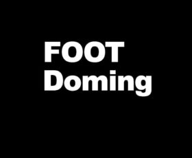 foot doming poster